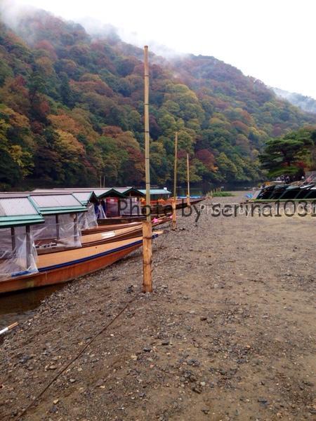 京都嵐山渓流下り