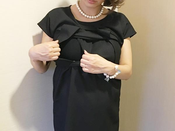 結婚式お呼ばれドレス授乳