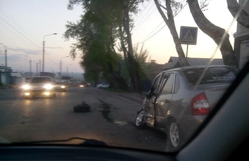 Опубликовано видео жуткой аварии на улице Урицкого