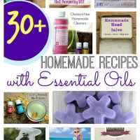 30 (Plus!) Homemade Recipes with Essential Oils