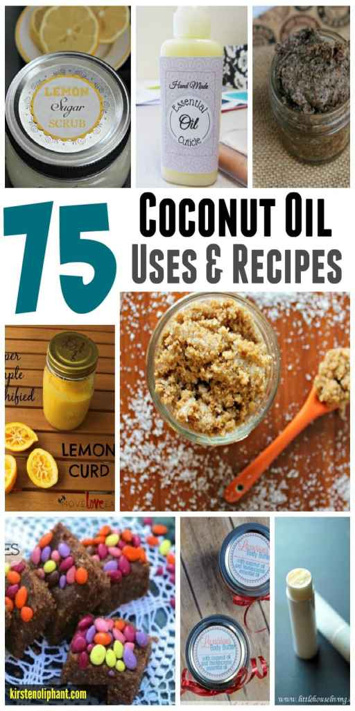 Over 75 amazing uses for coconut oil and WHY coconut oil has so many health benefits!