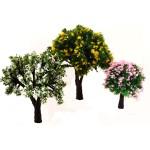 Deciduous plastic trees