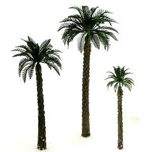 Palm wire trees