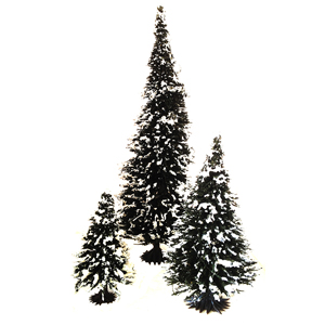 Pine plastic trees