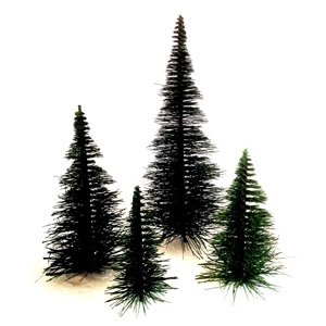 Pine wire trees