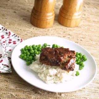 Mini Meatloaves with Barbecue Glaze is so light (not dense), moist and delicious! If your picky eater will like this version.