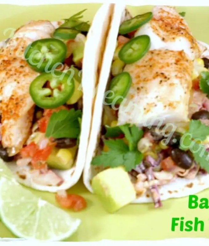 Baked Fish Tacos