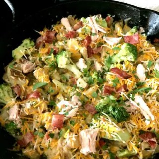 Easy Loaded Chicken Skillet -- This recipe is not only quick and easy but it's flavorful, too. Give it a try!