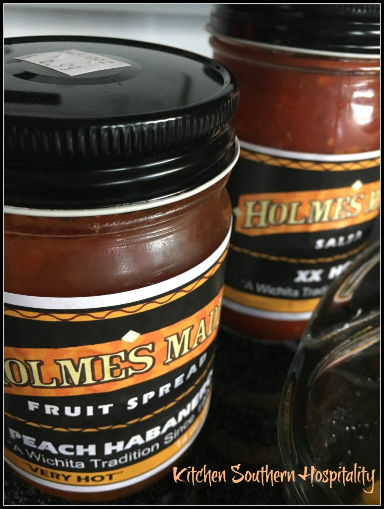 hot and spicy salsa and jam