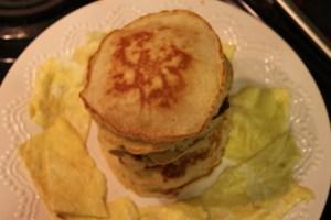 Teaching Grandchildren to Make Pancakes