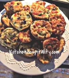 Quiche Crustless Muffins