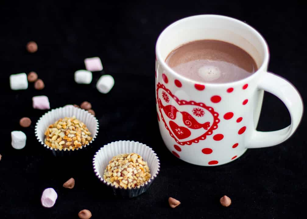 Nutella Truffles & Nutella Hot Chocolate