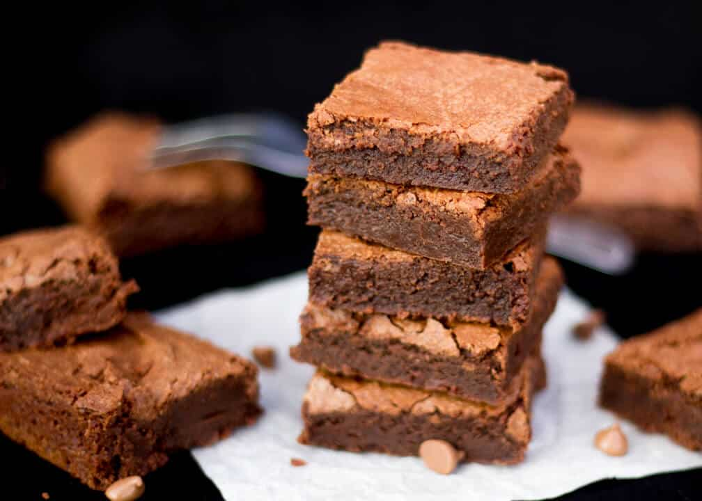 Easy One Bowl Brownies