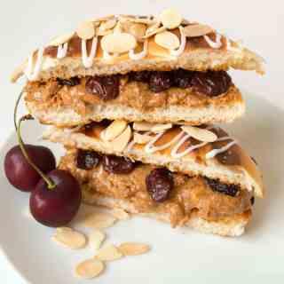 5 Days of Sweet Toasties – Day 4: Cherry Bakewell Toastie