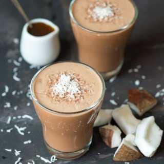 Malted Coconut Hot Smoothie – Bonus smoothie from my Hot Smoothie Saturday Series