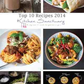 Top 10 Recipes from 2014