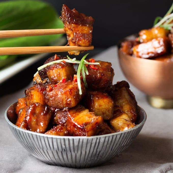 Quick recipe pork belly