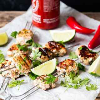 Thai Fish Cake Skewers