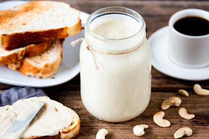 White chocolate coconut cashew butter - find it on Brit.co