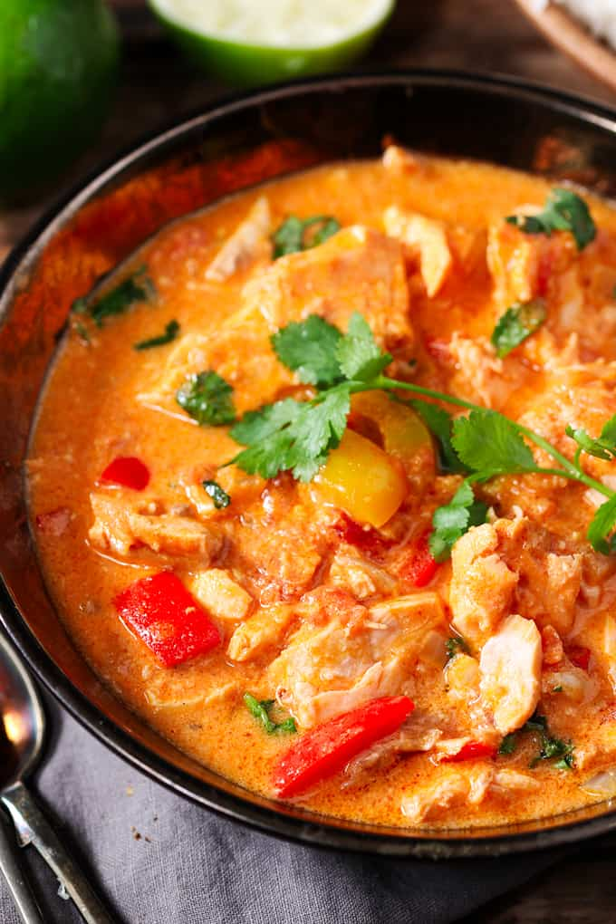light and fragrant fish stew with bags of flavour!