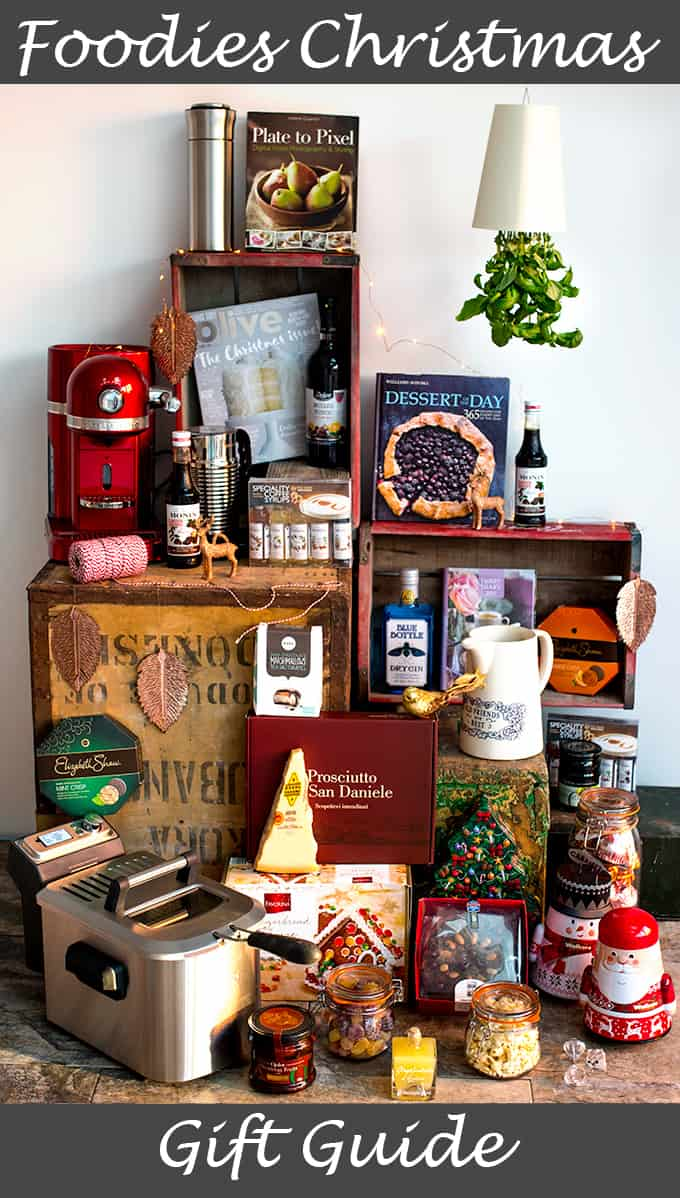 Need some Christmas present inspiration for the cookaholic in your life? Check out my Foodies Christmas gift guide 2016!!