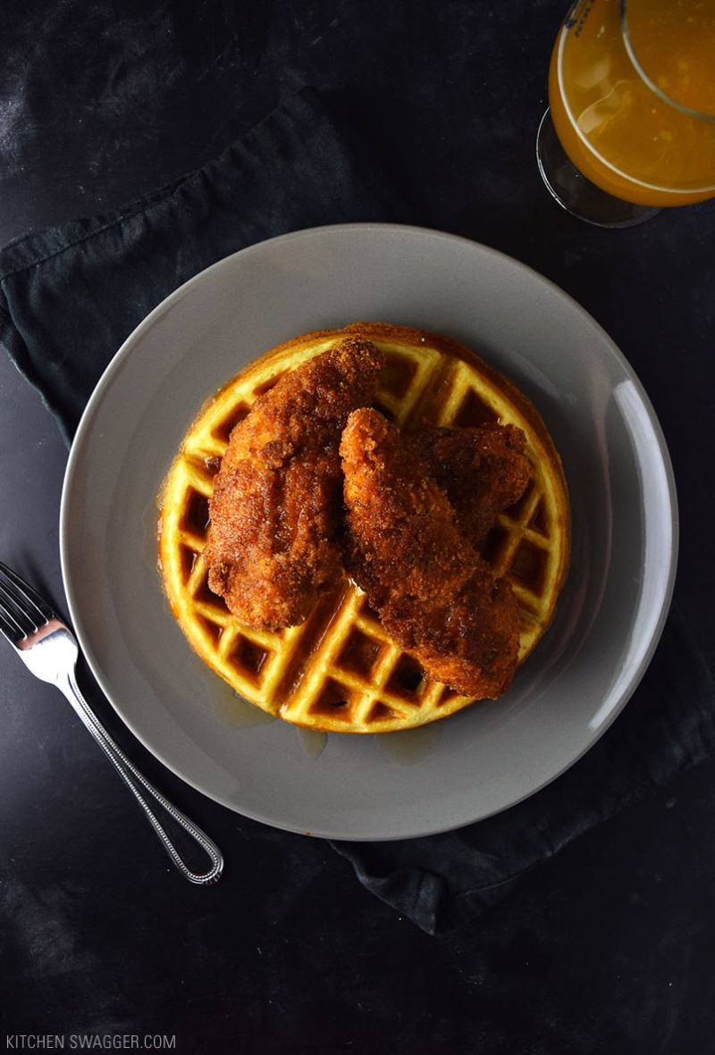 Large Of Chicken  Waffles
