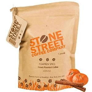 gourmet pumpkin spice flavored ground coffee