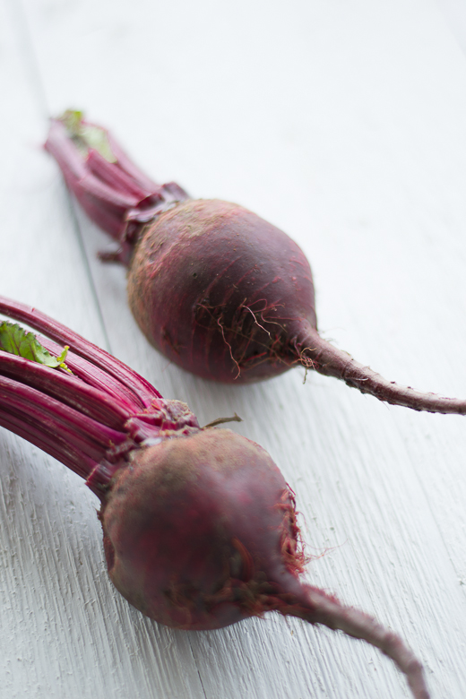 beautiful red beets