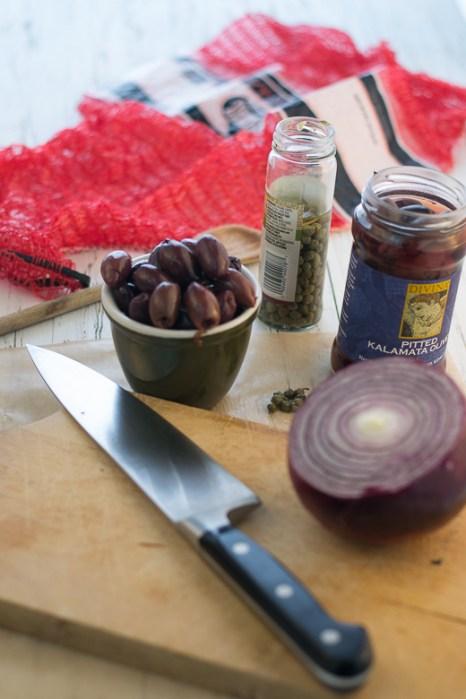 ingredient for rustic kalamata