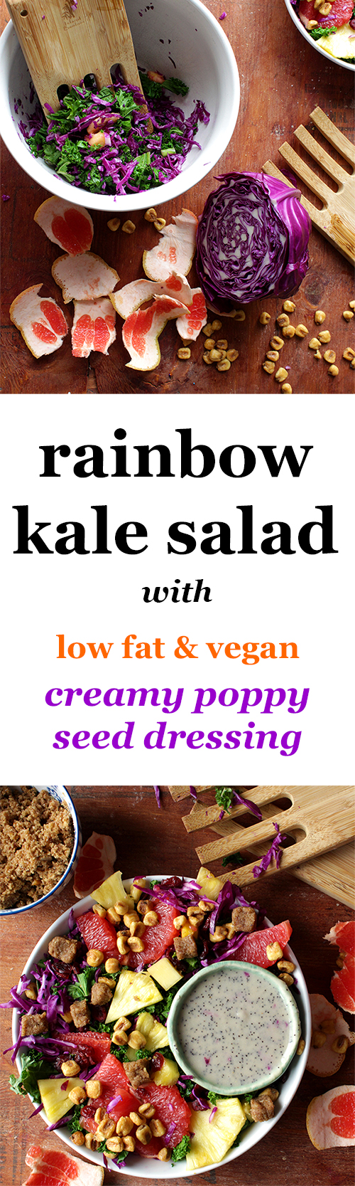 rainbow-kale-salad-with-creamy-low-fat-vegan-dressing-vegan-low-fat-poppy-seed-dressing-poppy-seed-dressing-recipe
