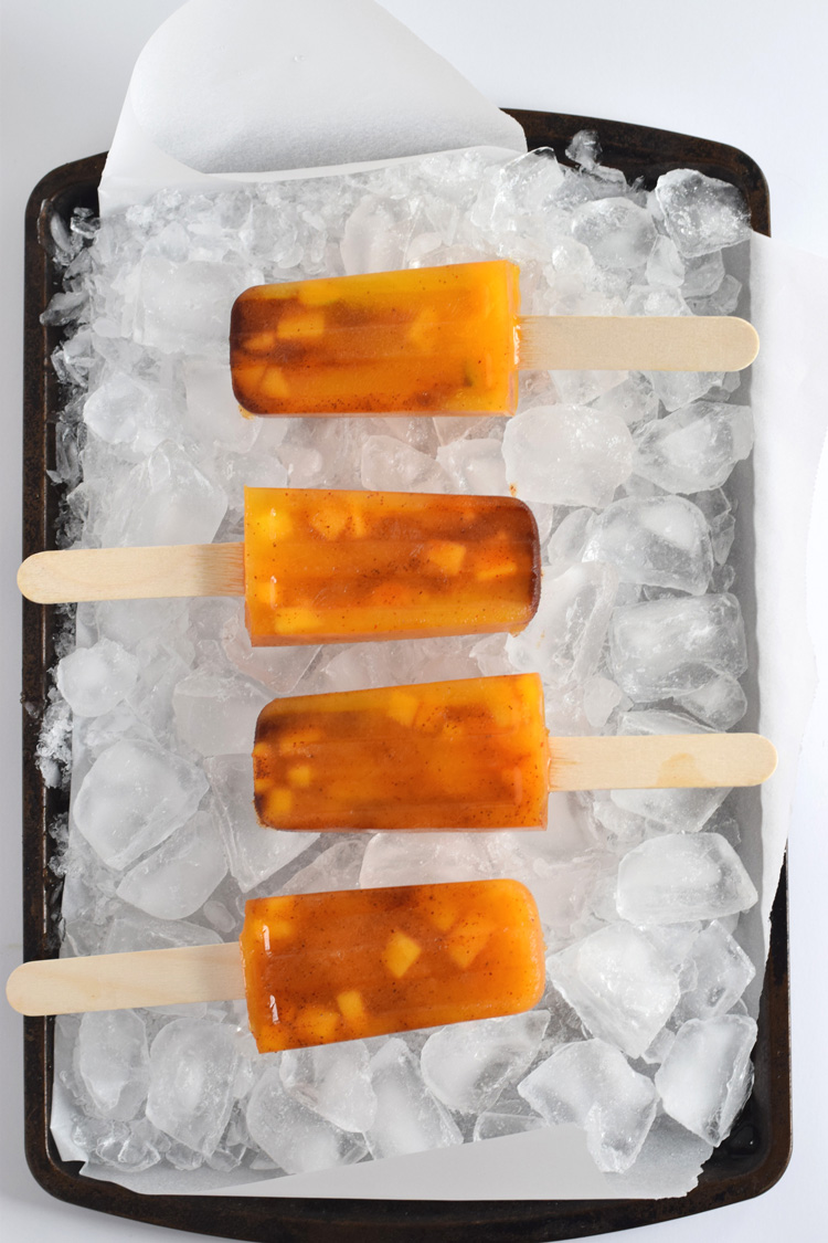 mango chili popsicles