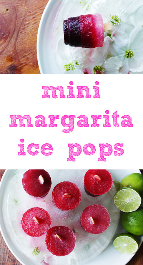 super cute li'l margarita ice pops