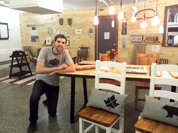 Gareth Davies is the owner of Maker House Co. on Wellington West, located at 987 Wellington St. W.