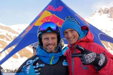 Etienne L'Hote, snowkiter