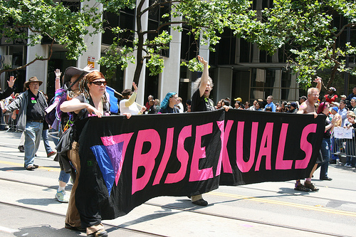 Until recently, science has been on the fence about the existence of male bisexuals. Photo by Caitlin Childs.
