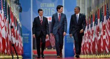 In Show Of Unity, North American Leaders Push For LGBTQ Rights