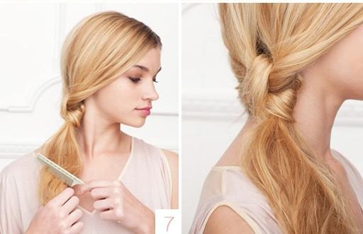 7 модных причёсок 2013 года: узлы и пучки