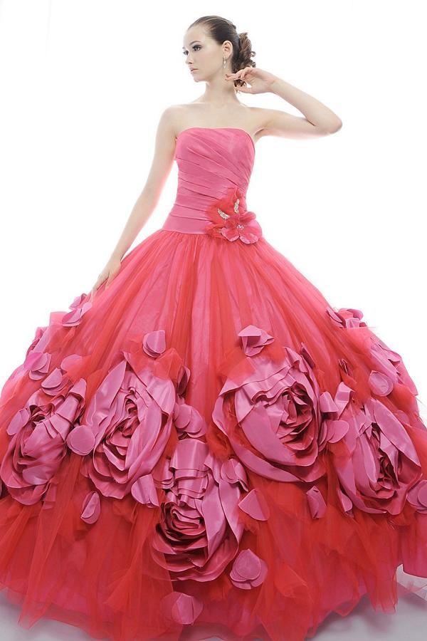 Стильные платья для выпускного - Вечернее платье принцессы