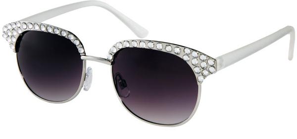 Украшенные ретро-очки - Солнцезащитные очки - тенденции модного декора 2013