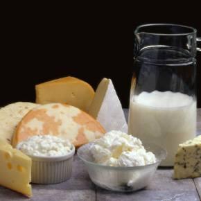 Таблица калорийности для молочных продуктов