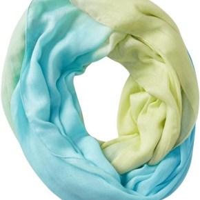 7 - Шарф, окрашенный по технике омбре - 7 модных шарфов, которые согреют холодной зимой 2013-2014 года