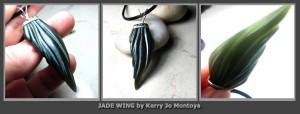 Jade Wing by Kerry Jo Montoya