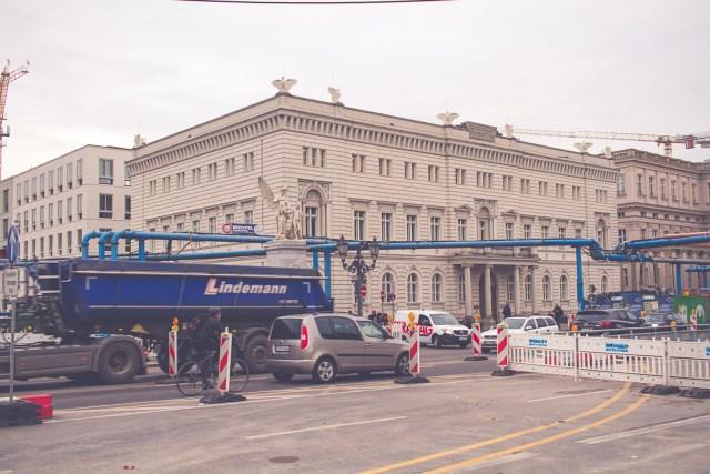 Berlin en kall höst helg 2016