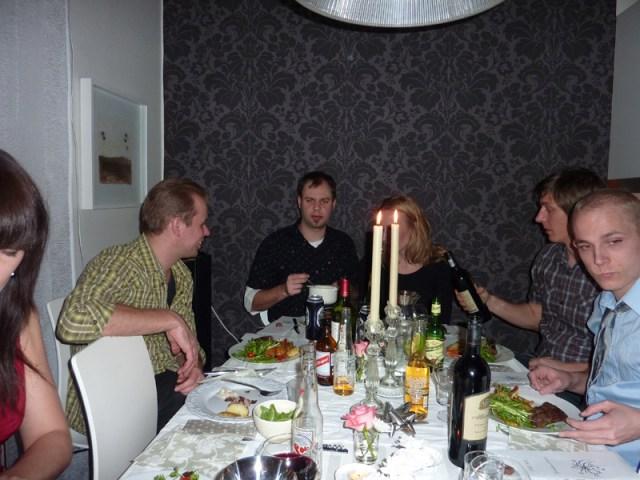 Snack runt bordet
