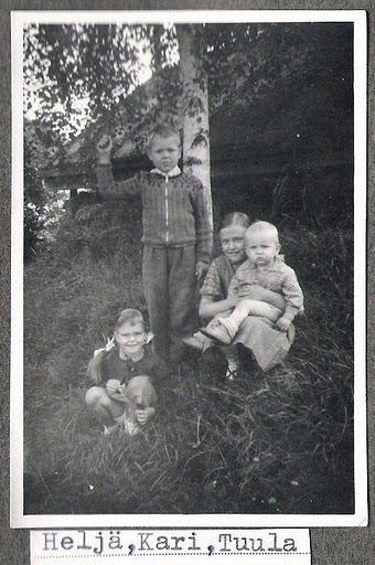 Heljä, Kari ja Tuula