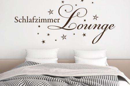 wandtattoo schlafzimmer lounge von klebeheld®