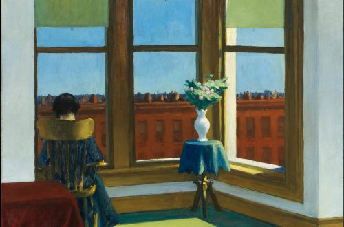 Edward Hopper - Room in Brooklyn (1932)