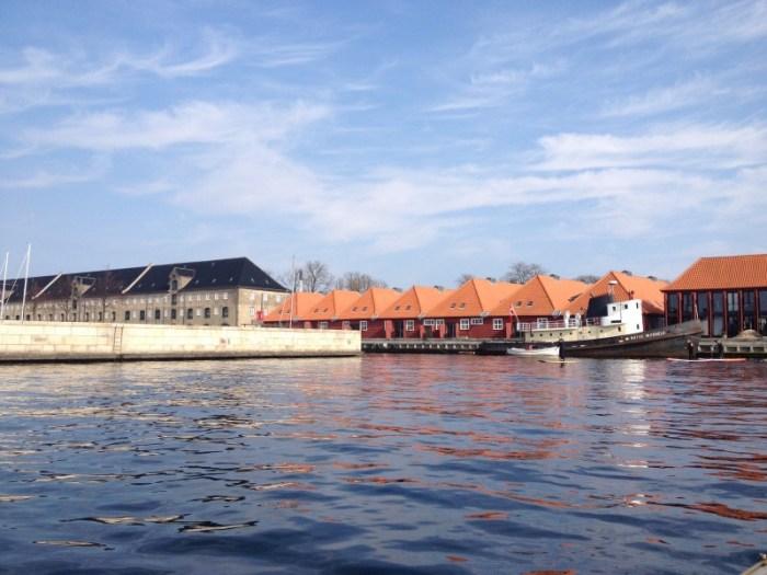scandinavische huisjes water