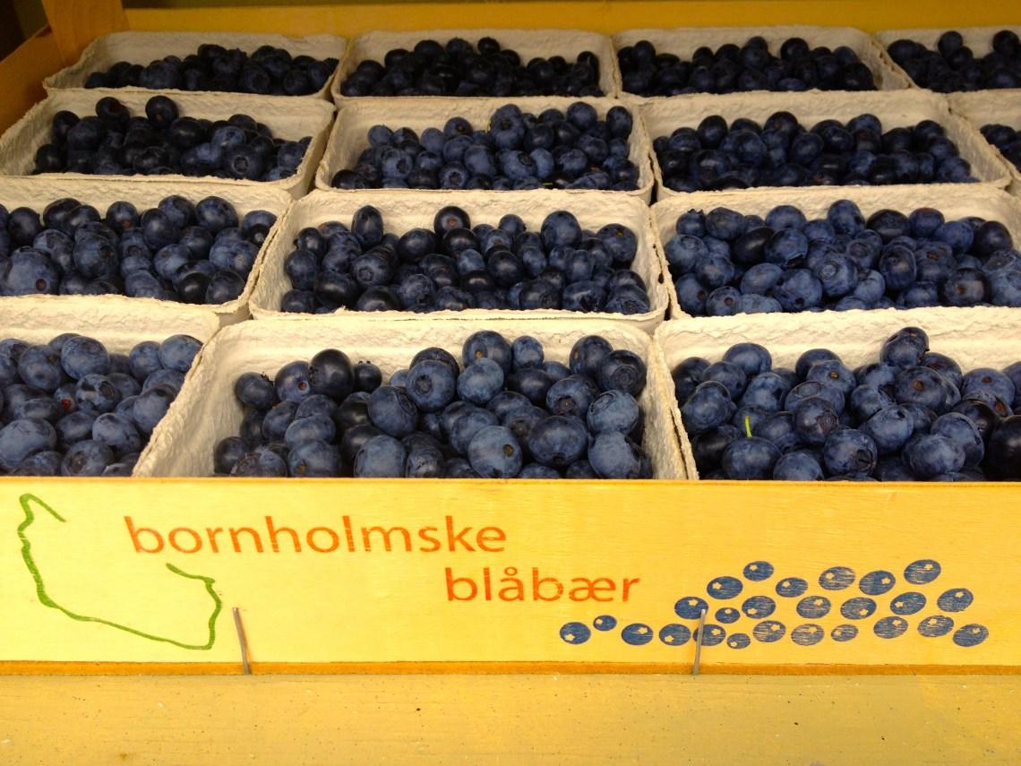 Bornholmse blauwe bessen