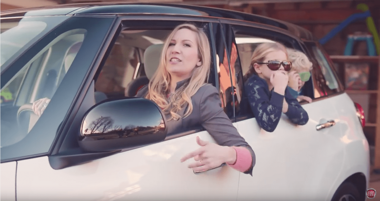 Welcome to motherhood : Fiat puts it in a nutshell!